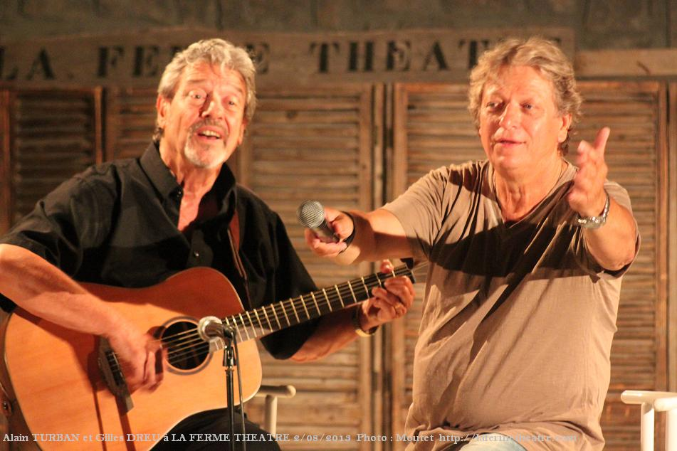 Gilles Dreu et Alain Turban