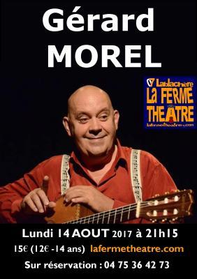 Gérard MOREL et sa guitare Lundi 14 aout 2017 à 21h15