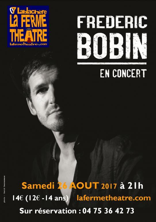 Fred Bobin en concert samedi 26 août 2017 à 21h15