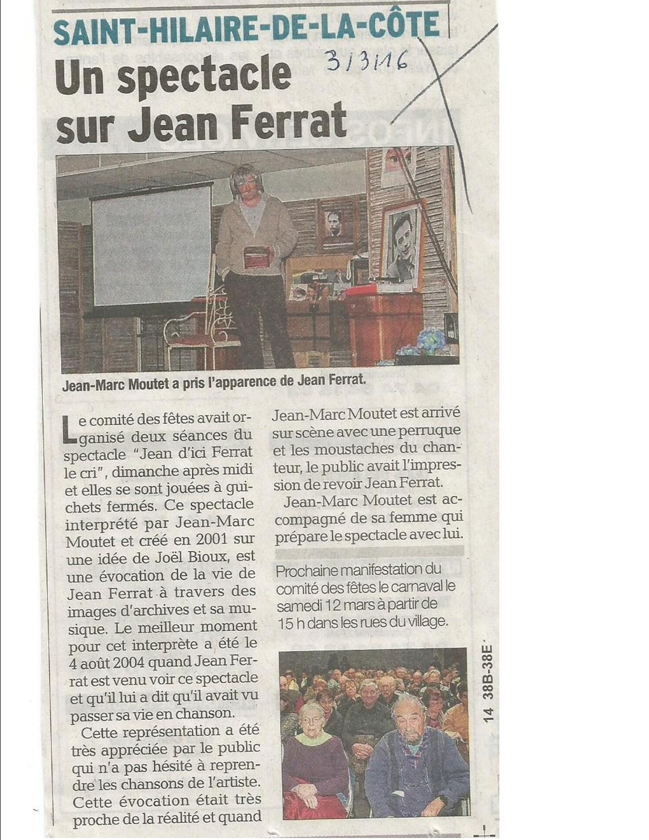 Article dl st hilaire de la cote