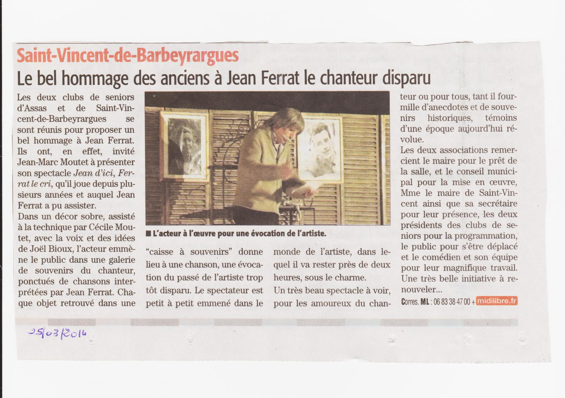 Article journal jean ferrat 001