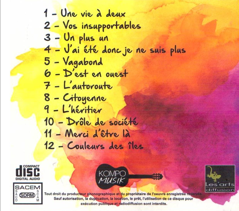 Barbara deschamps nouvel album verso