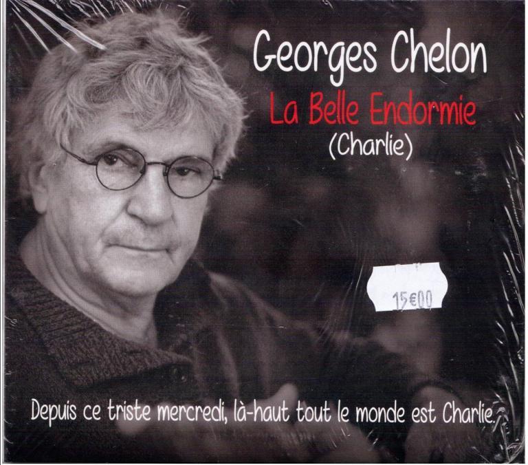 """Georges CHELON CD """"La belle endormie """"( Charlie)"""