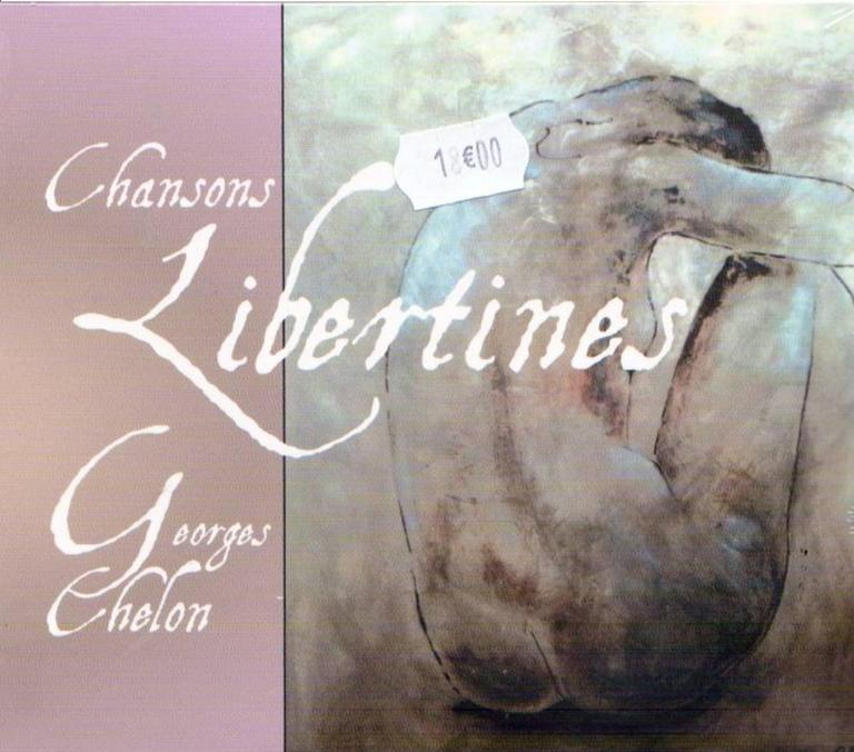 "Georges CHELON CD ""Chansons libertines"""