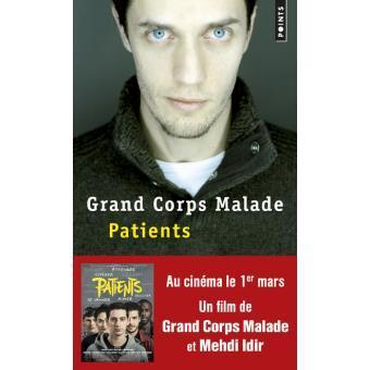 """Grand corps malade  """"Patients"""" Le livre"""
