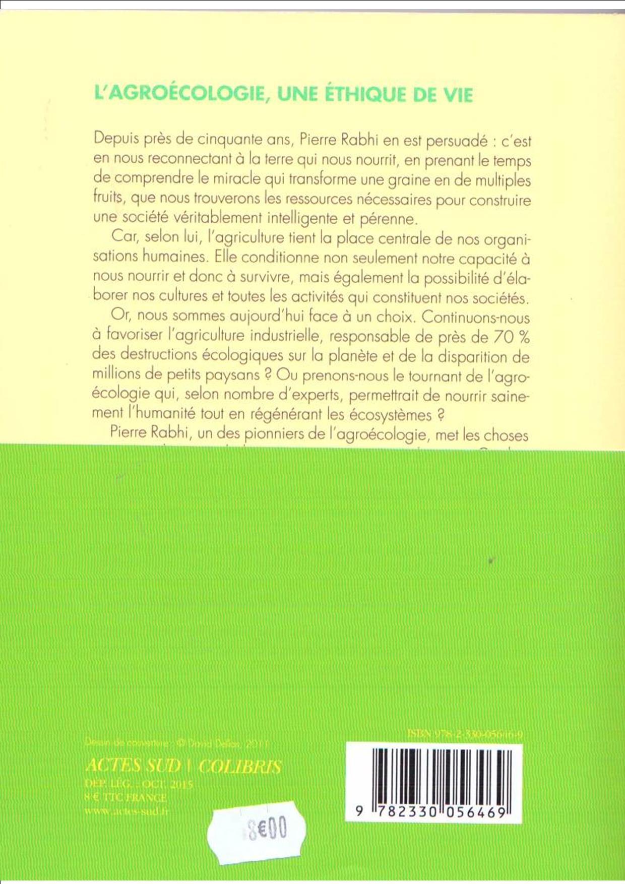 Rabhi agroecologie verso