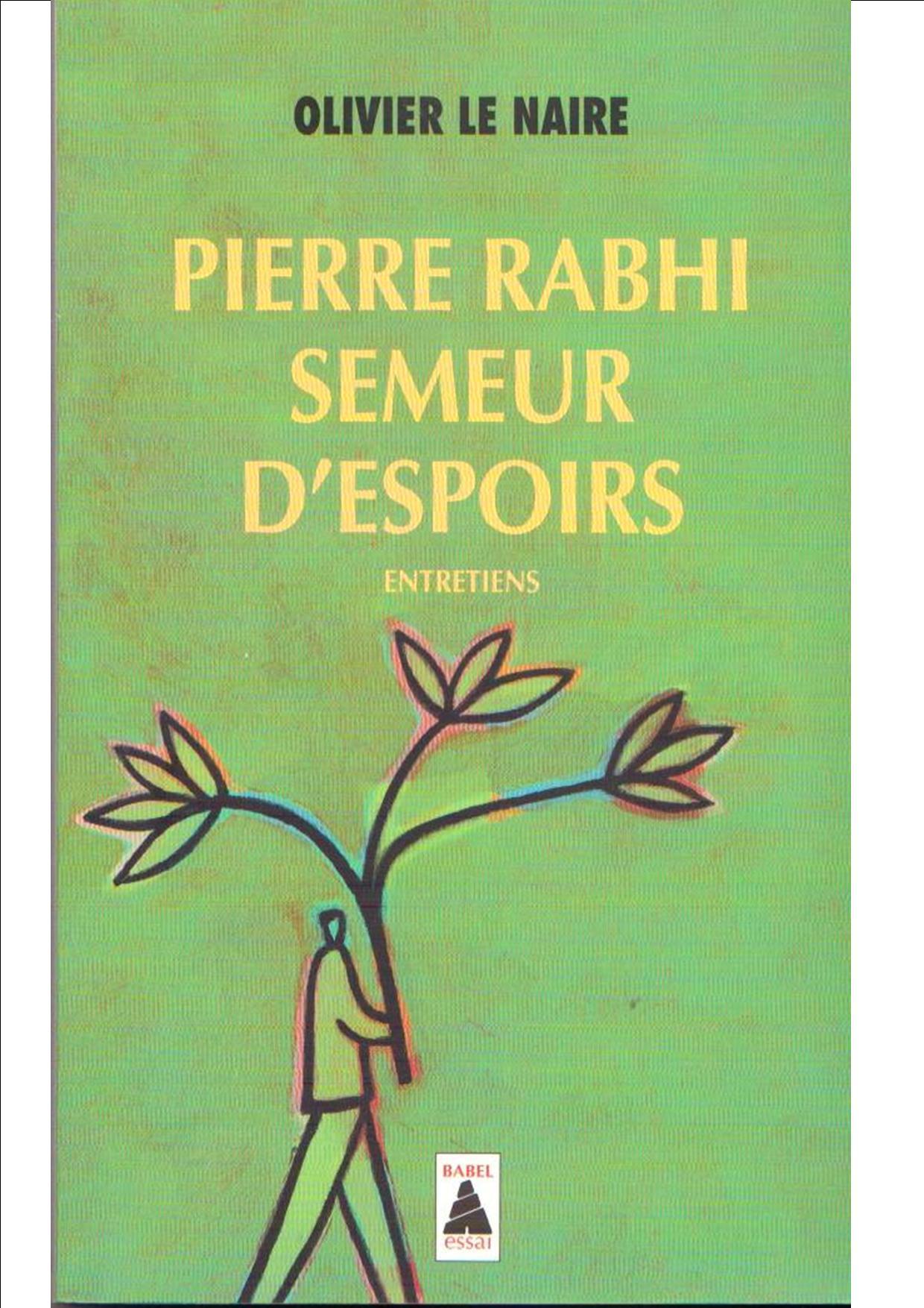Rabhi semeur d espoirs