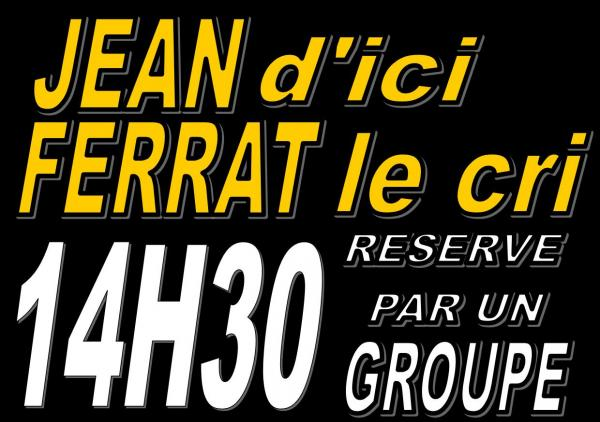 Reservation groupe 14h30