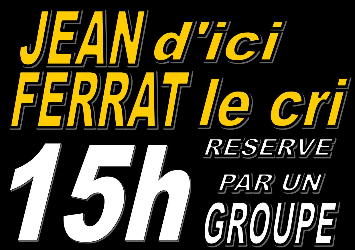 Reservation groupe 15h