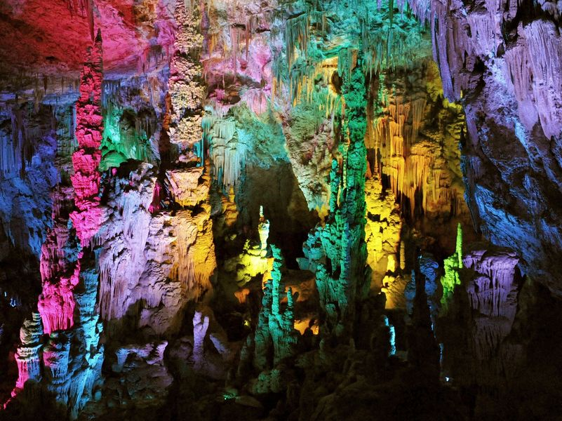 La grotte de la Salamandre à Méjannes le clap  (30)