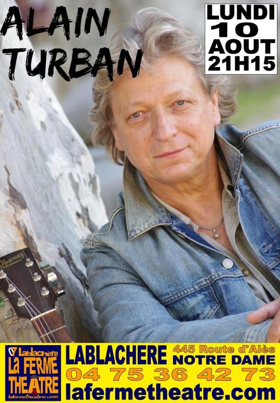 10 aout 2020 alain turban en concert
