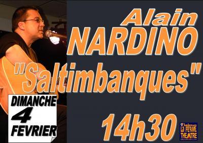 """Alain NARDINO ""Saltimbanques"" dimanche 4 février 2018 à 14h30"