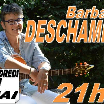 Barbara DESCHAMPS en concert  Vendredi 11 mai à 21h