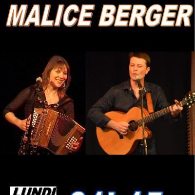 Coline Malice et Laurent Berger Lundi 9 juillet 2018 à 21h15