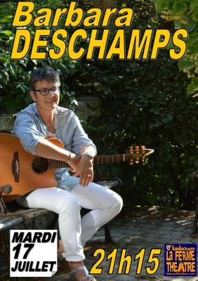 Barbara DESCHAMPS en concert  Mardi 17 juillet 2018 à 21h15