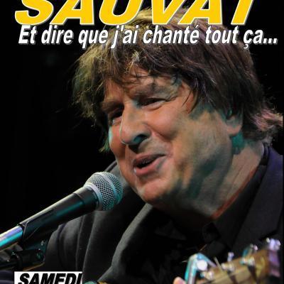Bernard SAUVAT en concert Samedi 28  Juillet 2018 à 21h15