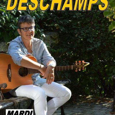 Barbara DESCHAMPS en concert  Mardi 7 août 2018 à 21h15