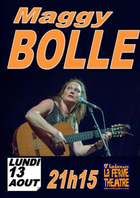 Maggy Bolle en concert Lundi 13 août 2018 à 21h15