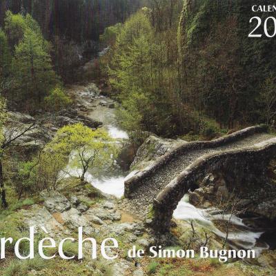 Calendrier Ardeche 2020 de Simon Bugnon