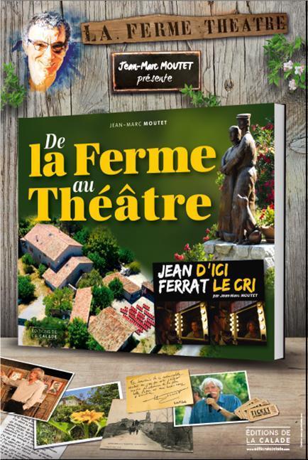 Affiche la ferme theatre le livre