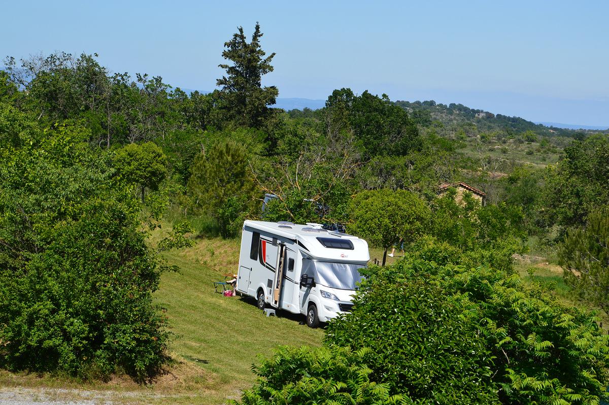 Aire de camping car tranquille ardeche 1