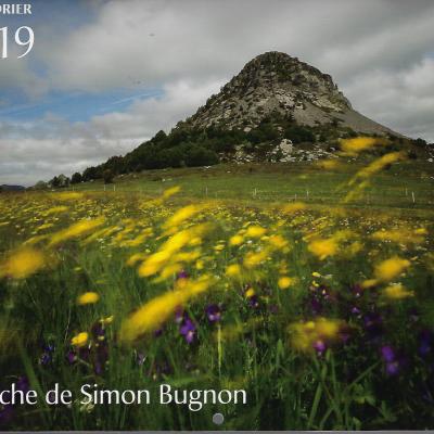 Calendrier Ardeche 2019 de Simon Bugnon