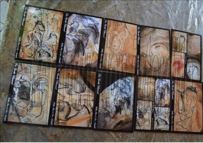 Lot de 10 Cartes Postales Grotte Chauvet