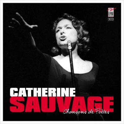 CD Catherine SAUVAGE  CHANTE LES POÈTES