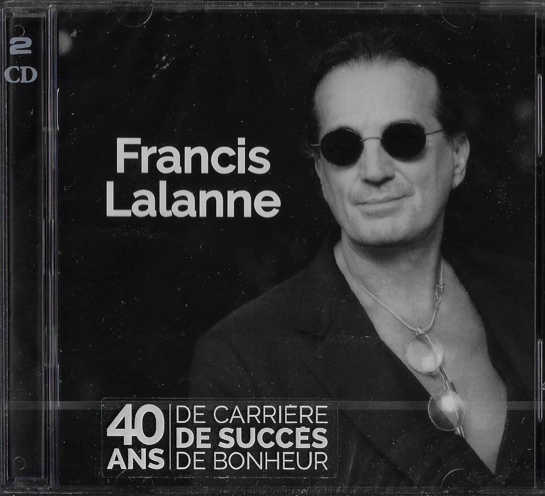 Cd francis lalanne 40 ans