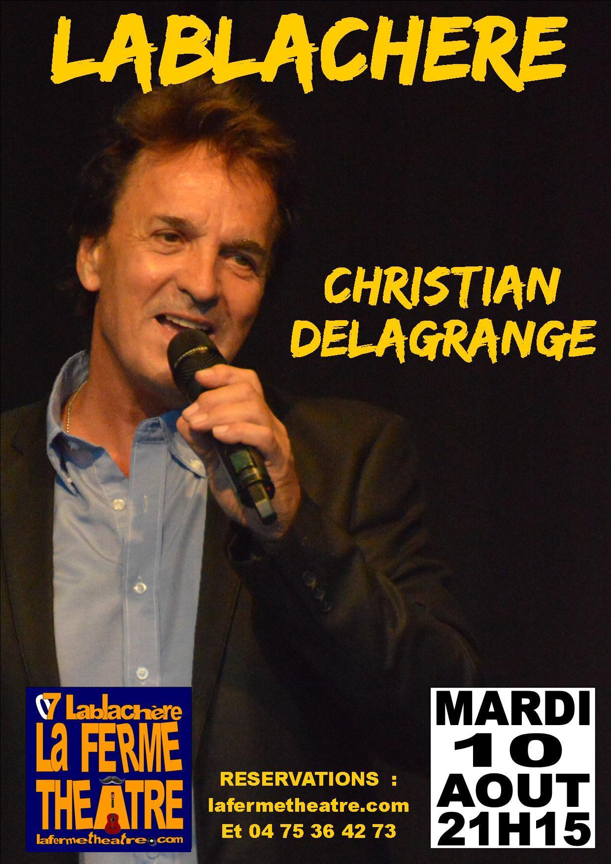 Christian delagrange en concert a lablachere ardeche 10 08 2021
