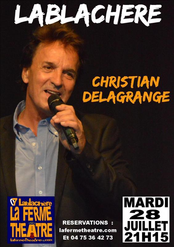 Christian delagrange en concert a lablachere ardeche 28 juillet 2020