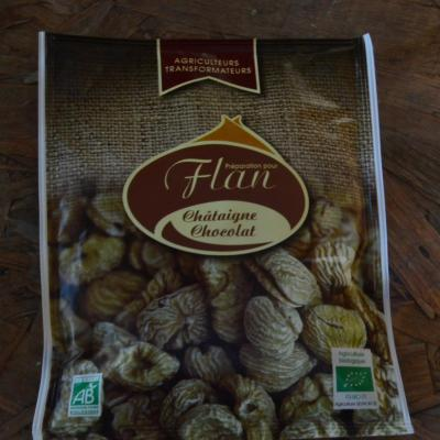 Flan châtaigne chocolat 56g
