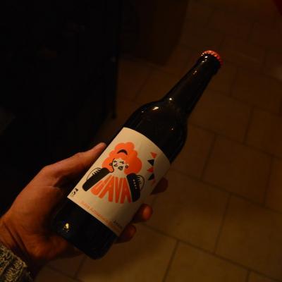 Bière JAVA Ambrée 50cl