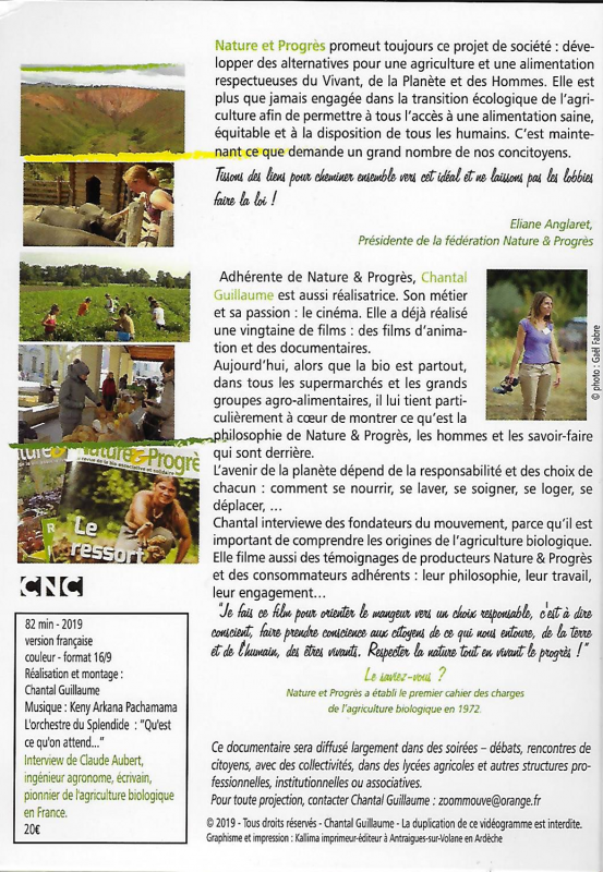 Dvd agroecologie