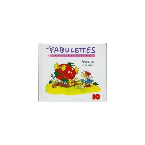Fabulettes a manger cd album jeunesse epm musique pour les enfants anne sylvestre