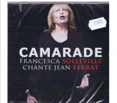 "Francesca SOLLEVILLE cd ""CAMARADE"""