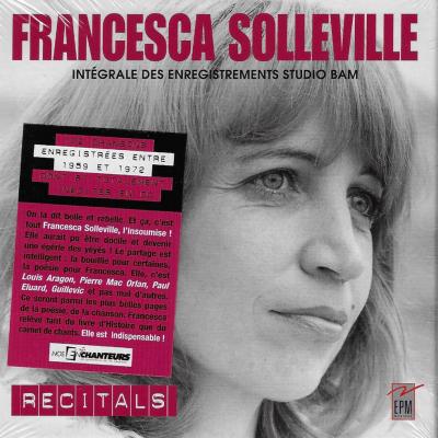 4 CD Francesca Solleville intégrale des enregistrements STUDIO BAM