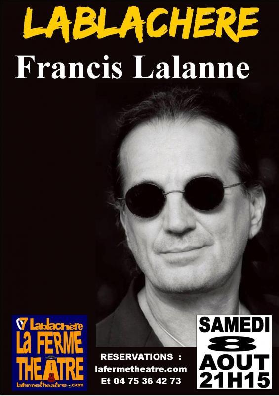 Francis lalanne en concert a lablachere ardeche 8 aout 2020