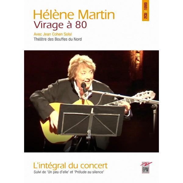 Helene martin au theatre des bouffes du nord dvd cd