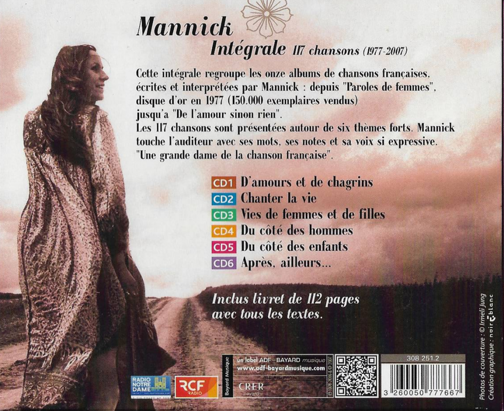 Integrale cd mannick