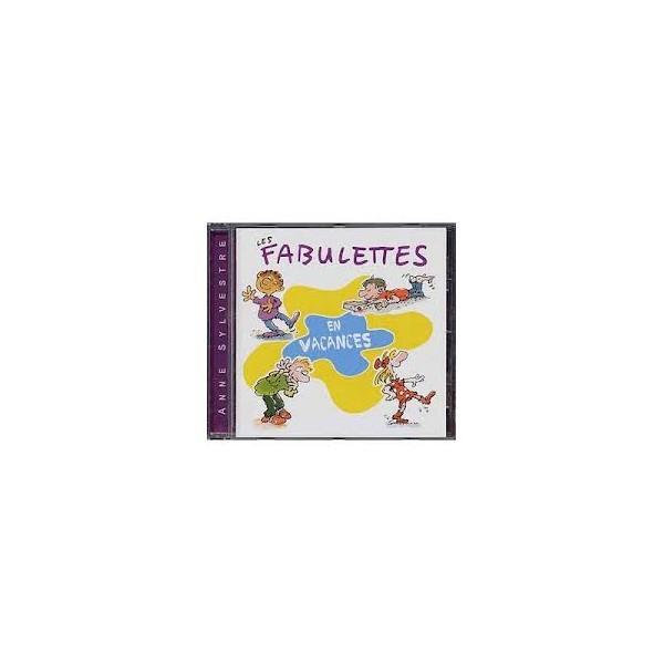 Les fabulettes en vacances cd album jeunesse epm musique pour les enfants anne sylvestre