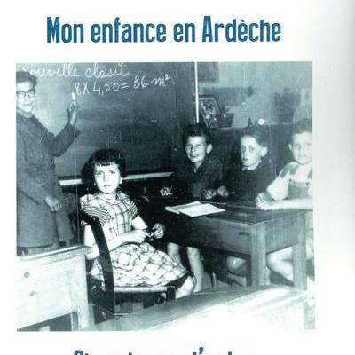 Mon enfance en Ardèche de Solange richard