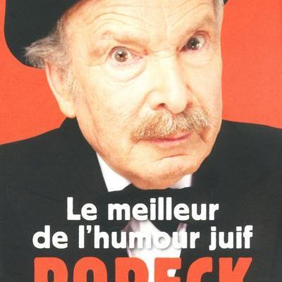 Popeck : Le meilleur de l'humour juif ( à prix raisonnable!)