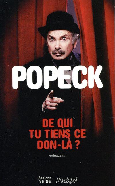 Popeck livre biographies