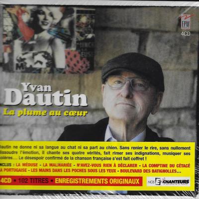 4 CD Yvan DAUTIN